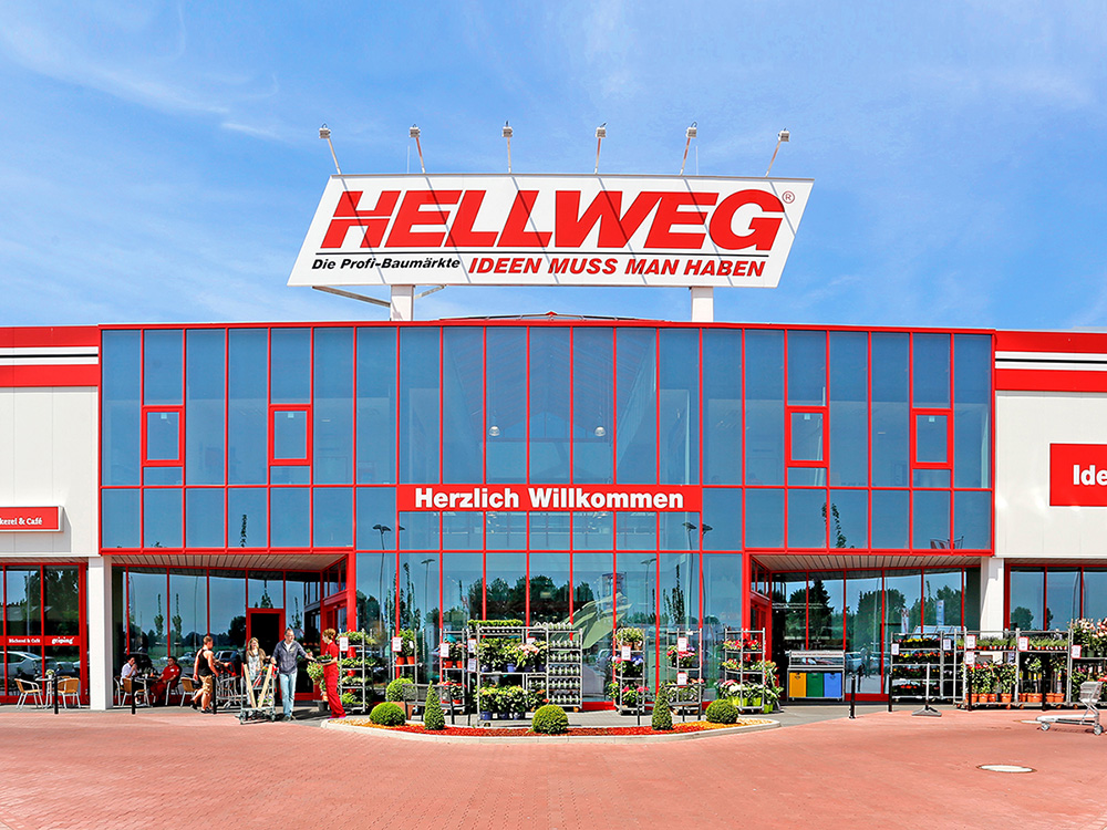RELEX client Hellweg - DIY and garden center - copyright Hellweg