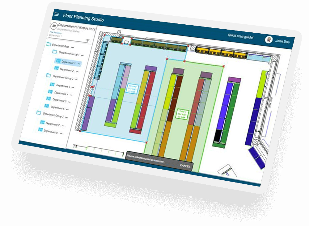 Macro space planning and optimization software relex for Space planning software
